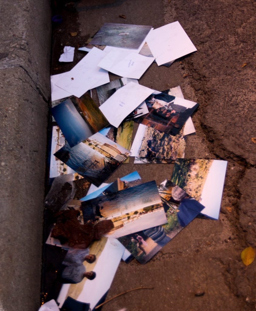Littered Memories - Photos in the Gutter